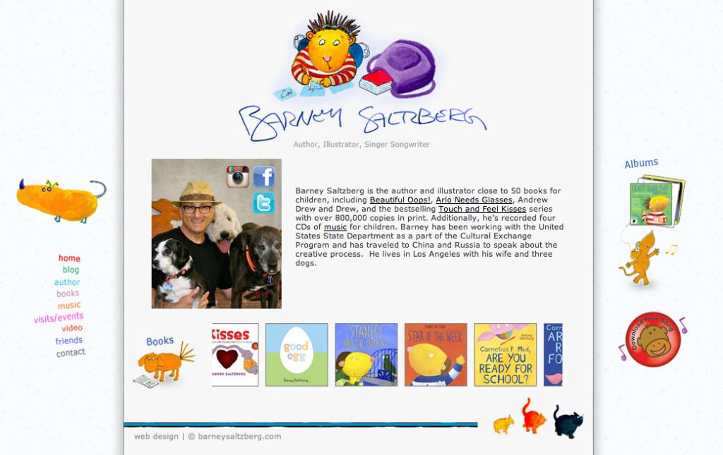 Barney Saltzberg homepage