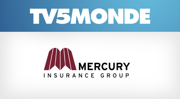 Mercury Insurance and TV5MONDE banner campaigns