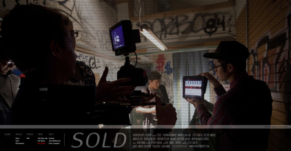 Sold - short film [flash site]