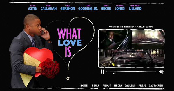What Love Is - Feature Film [flash website]